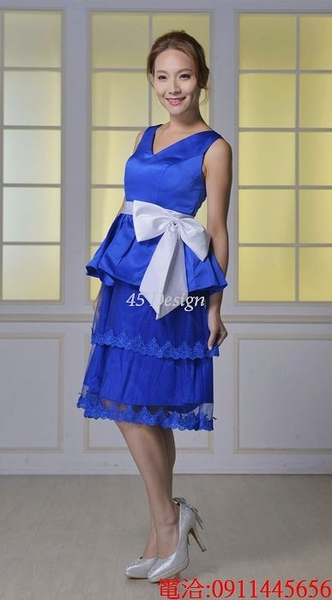 (45 Design) 訂做款式7到貨中大尺碼 可定做顏色 禮服 結婚 喜宴 尾牙 春酒 緞面 專業訂製款