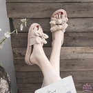 涼鞋女 拖鞋女士外穿2020夏季新款網紅時尚百搭外出厚底涼拖鞋ins潮夏天【快速出貨】