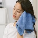 兒童手帕 三利擦手巾掛式兒童洗臉毛巾搽手帕女家用小方巾可愛柔軟【快速出貨八折下殺】