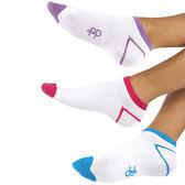 『摩達客』英國進口 Pretty Polly 運動短襪超值組(三入一組) (60113076016)