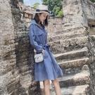 連帽洋裝女秋裝2020年新款早流行裙子收腰顯瘦女神范衣服氣質  【端午節特惠】