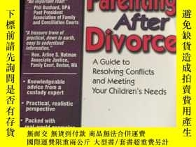 二手書博民逛書店Parenting罕見After Divorce: A Guid