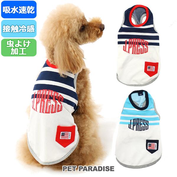 【PET PARADISE 寵物精品】JPRESS 條紋涼感背心/紅 (DSS/SS/S) 寵物衣服