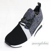 SKECHERS(男) MODERN JOGGER NATIONAL 時尚休閒鞋 運動鞋 -68582BKNV黑藍