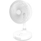 【KINYO】8吋充電涼風扇-白色 CF-5770