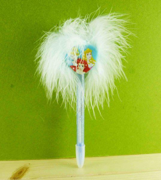 【震撼精品百貨】公主 系列Princess~絨毛原子筆-藍愛心