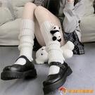 小腿襪素色針織堆堆襪保暖腿套秋冬日系jk襪套女中筒百搭【公主日記】【小獅子】