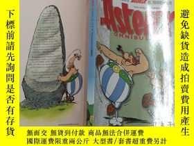 二手書博民逛書店Asterix罕見and the big fight 英文漫畫