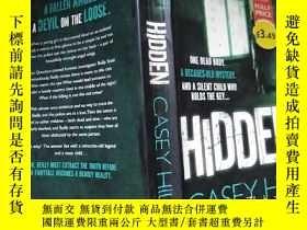 二手書博民逛書店hidden罕見casey hillY32667 出版2013