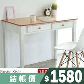 電腦桌 高書桌【I0145】典雅雙抽100cm電腦桌MIT台灣製  收納專科