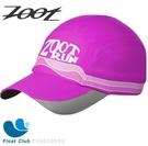 Zoot COOLMAX反光型運動跑帽(桃紅)運動帽 路跑帽 鴨舌帽 帽圓遮陽帽 三鐵帽 棒球帽