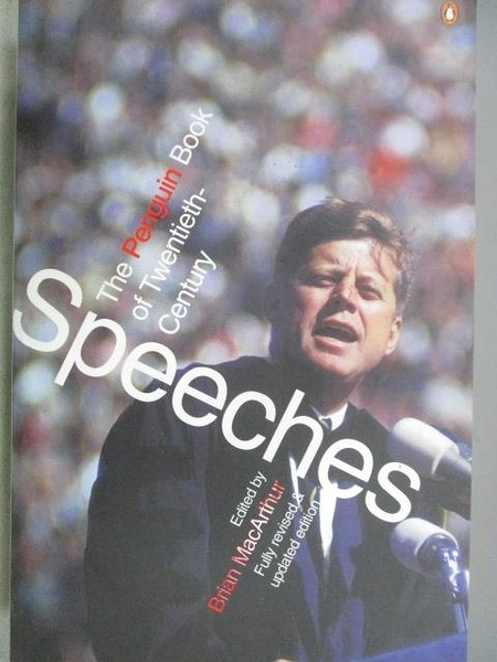 【書寶二手書T7/原文書_MBE】The Penguin Book of Twentieth-Century Speeches