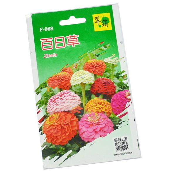 【FC410】花卉種子:百日草/滿天星/非洲菊/採葉草/日日春/向日葵 EZGO商城