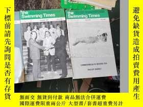 二手書博民逛書店the罕見swimming times (april,august,june 1979) 三本合售Y11245