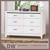 【多瓦娜】19058-205001 艾朵拉白色4尺六斗櫃(858)