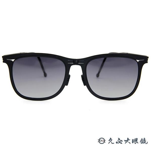 ROAV 美國 折疊 Lennox 薄鋼墨鏡 偏光太陽眼鏡 Mod8002 消光黑 久必大眼鏡