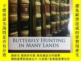 二手書博民逛書店Butterfly罕見Hunting in Many Lands