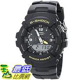 [美國直購] 手錶 Casio Unisex G-100-9CMCR G-Shock Black Watch