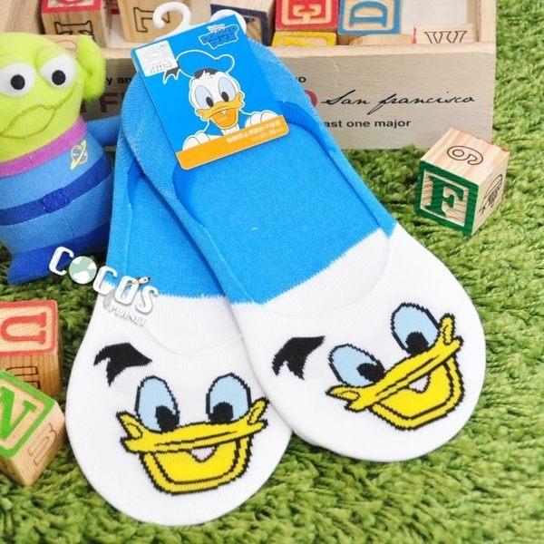 正版授權 迪士尼襪子 唐老鴨 防滑短襪 船型襪 踝襪 止滑隱形襪 COCOS JD040