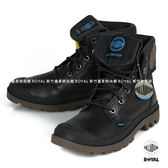 Palladium 新竹皇家 PAMPA SPORT 黑色 防水系列 軍靴 反折 皮質 高筒 男女款 NO.A9254