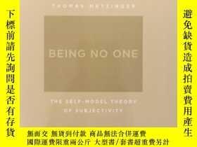 二手書博民逛書店Being罕見No One: The Self-Model Th