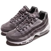 Nike 休閒慢跑鞋 Wmns Air Max 95 LX 灰 白 氣墊 麂皮 女鞋 【PUMP306】 AA1103-003
