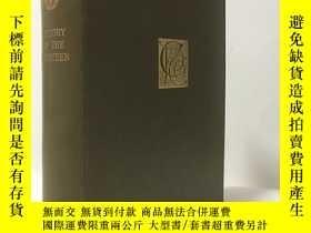 二手書博民逛書店1896年英文 History罕見of the Thirteen Honore de Balzac 巴爾紮克 綠色