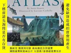 二手書博民逛書店The罕見Oceans Atlas(詳見圖)Y6583 Anit