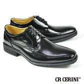 【CR CERINI】小方頭商務紳士鞋 黑色(54521-BL)