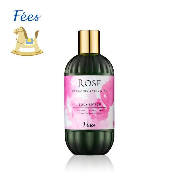 【Fees法緻】有機玫瑰潤澤賦活香體乳 315ml / 保濕 溫和 送禮 乳液 身體乳