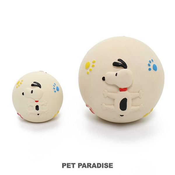 【PET PARADISE 寵物精品】史努比SNOOPY 超大球球軟膠啾啾玩具