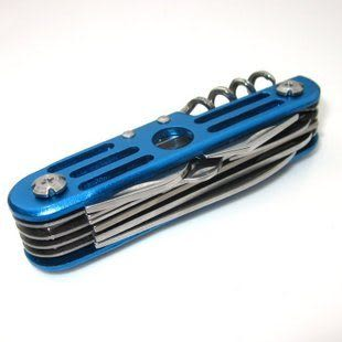 新款11多功能不鏽鋼瑞士軍刀 組合工具