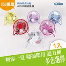 辦公桌專用 USB風扇 4吋USB鐵網風扇 扇葉鋁合金(UU-62-01(A)