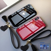 opporeno手機殼r17全包防摔r11情侶r11s玻璃鏡面【英賽德3C數碼館】