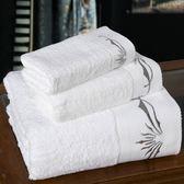 浴巾三件套含浴巾+毛巾+方巾-星級飯店純棉加大加厚衛浴用品72t8[時尚巴黎]