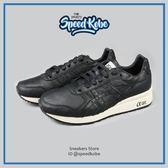 ASICS 慢跑鞋 Gel Lyte V Tiger GT 黑白 皮革 復古 情侶 男 H7L2L9090【Speedkobe】