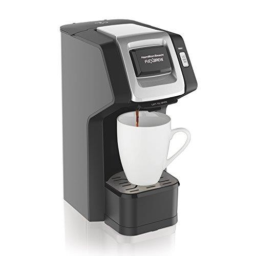 【美國代購】Hamilton Beach(49974)Single Serve Coffee Maker  咖啡機 黑色