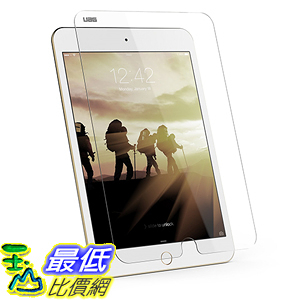 [美國直購] URBAN ARMOR GEAR 3D touch 9H 平板 保護貼 iPad Mini 4 Tempered Glass Scratch Resistant Screen Shield