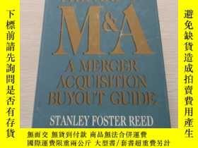 二手書博民逛書店The罕見Art of M&A A Merger Acquisi