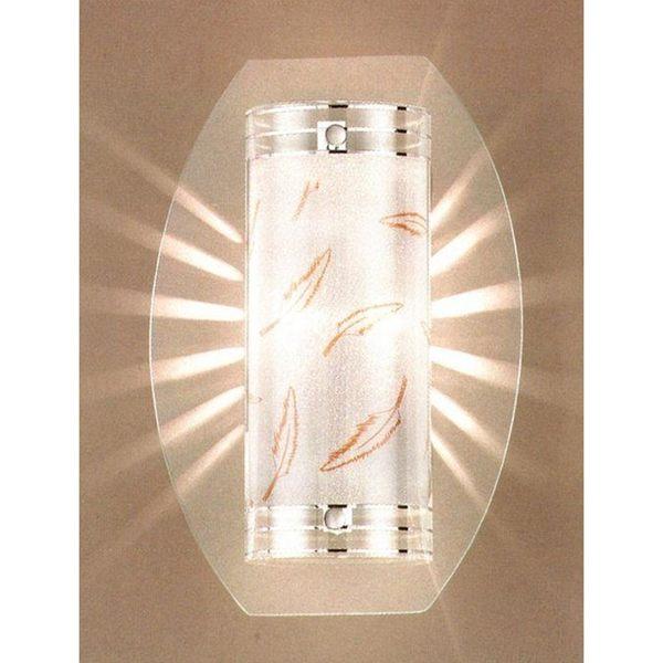 霧砂玻璃層次壁燈─高30寬20深8.5 cm─E14x1【雅典娜家飾】A705965