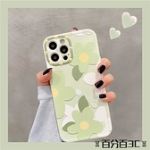 手機殼 適用蘋果12promax手機殼iphone 11小清新花朵xsmax仙女韓風xr全包x/xs硅膠 百分百