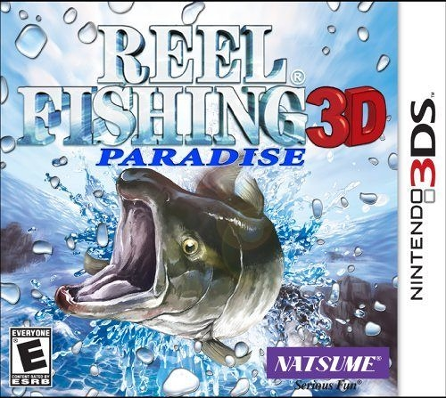 3DS Reel Fishing Paradise 3D 垂釣樂園 3D(美版代購)