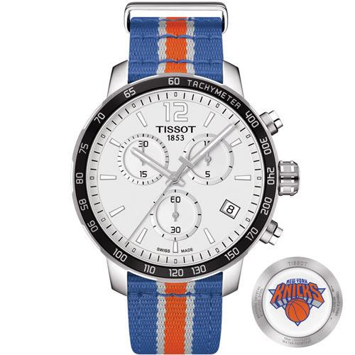 天梭 TISSOT X NBA 紐約尼克隊特別版腕錶 T0954171703706