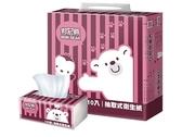 邦尼熊抽取式衛生紙100抽*10入X6串/箱購免運