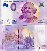 【台灣大洋金幣】馬克思誕辰200週年零歐元紀念鈔