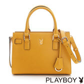 PLAYBOY- Sunshine Kiss 加州陽光系列 2WAY手提包-陽光黃