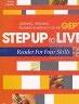【二手書R2YB】b 《STEP UP TO LIVE:Reader For F