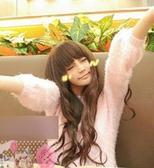 【WASSK】 W788假髮 非主流 長捲髮 蓬鬆 包臉 齊劉海 高溫絲 女 日系修臉 全頂式 韓式假髮 高溫絲
