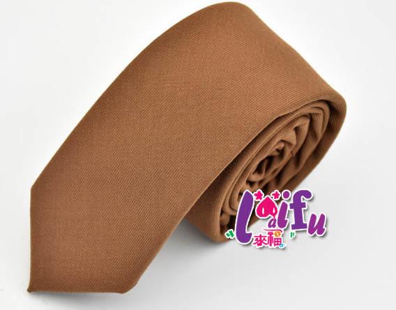 ★依芝鎂★K898拉鍊領帶長49寬6cm拉鍊領帶窄領帶窄版領帶 ,售價170元