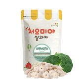 【韓國米餅村】寶寶糙米圈圈-共七款 零食 嬰兒 米果 兒童 幼童 可食 健康 無調味